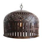 Image of Industrial Cage Lantern For Sale