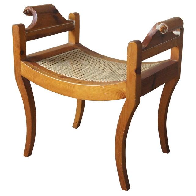 Cane Seat Stool