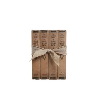 Vintage Edgar Allen Poe : Gift Set of Four Decorative Books