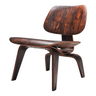 1940s Eames Lcw Pre-Production in Rio Rosewood For Sale