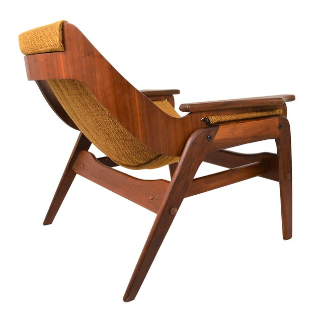 Mid Century Modern Sling Chair By Jerry Johnson - Image 3 of 7
