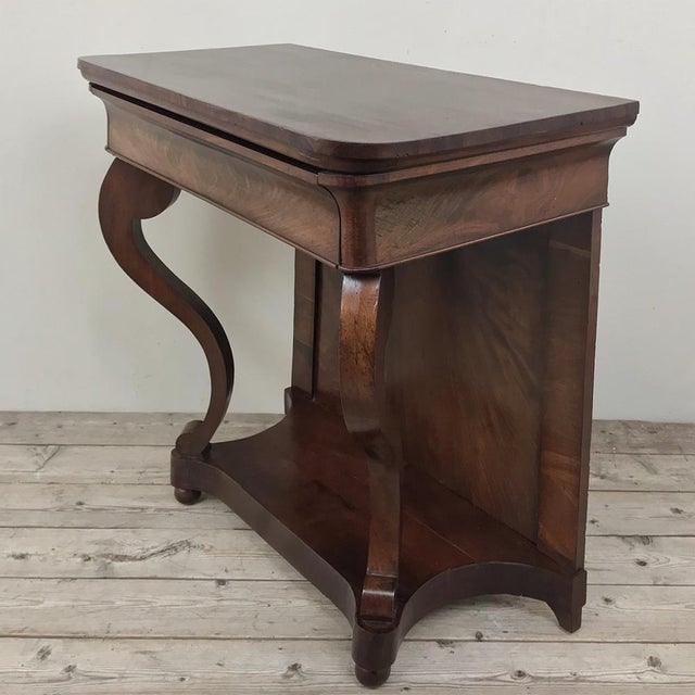 Mid 19th Century 19th Century French Louis Philippe Console For Sale - Image 5 of 12