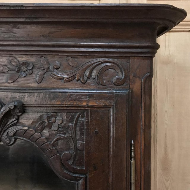 18th Century Country French Provincial Vitrine For Sale - Image 10 of 13