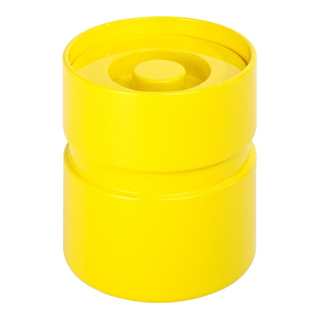 Ice Bucket in Citron Yellow - Rita Konig for The Lacquer Company For Sale