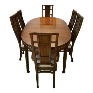 Solid Mahogany Dining Room Set