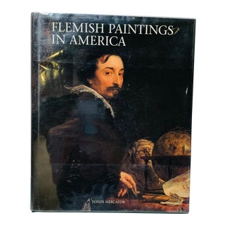 Flemish Paintings in America Art Book Large Size Art Table Book For Sale
