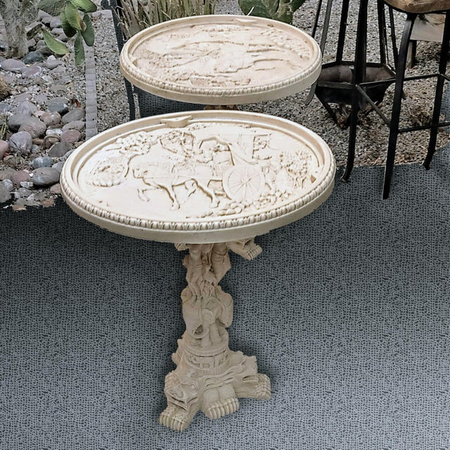 20th Century Javanese Resin Side Coffee Tables - a Pair For Sale - Image 12 of 13