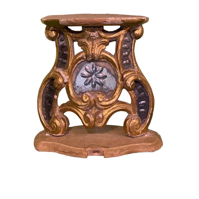 18th Century Carved Wood Stand For Sale In Dallas - Image 6 of 6