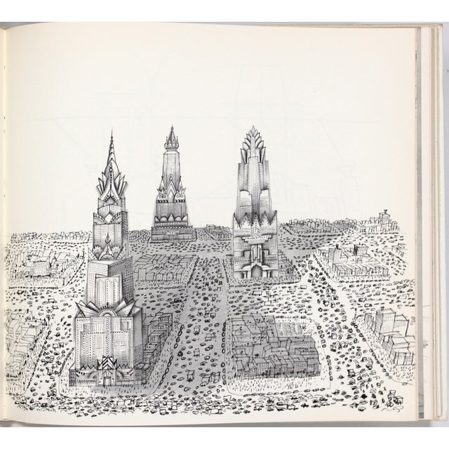 """""""The Labyrinth"""" 1st Ed. Book by Saul Steinberg - Image 10 of 11"""