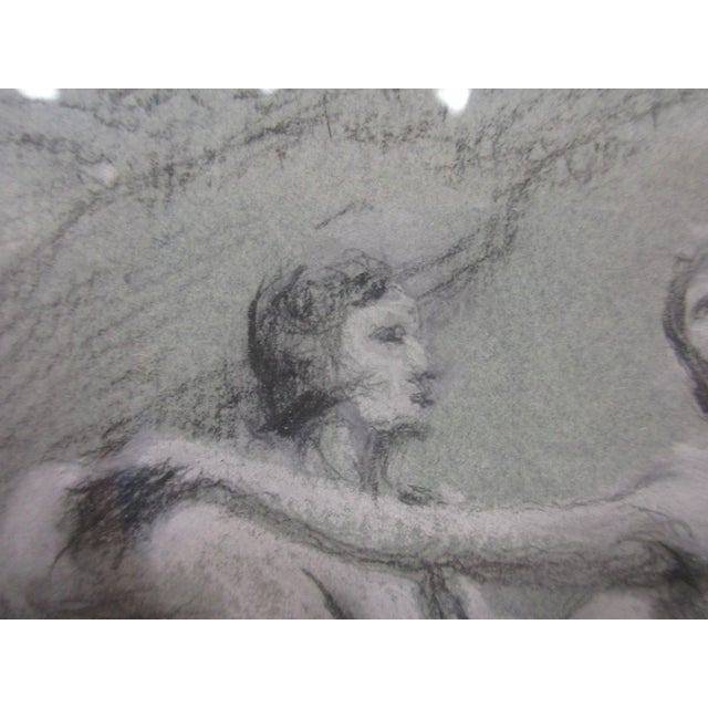 Charcoal Ballet Sketch by A. Von Munchhausen - Image 7 of 10
