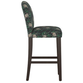 Camel Back Bar Stool in Tiger Bamboo Ink Oga Preview