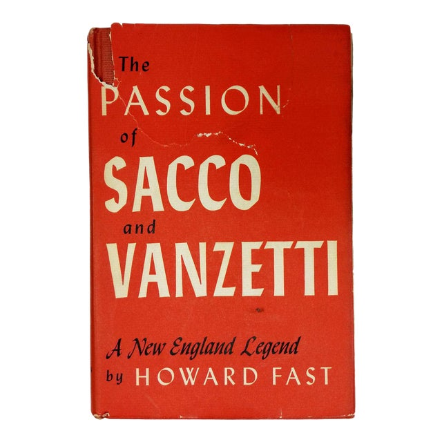 "1953 ""The Passion of Sacco and Vanzetti"" Collectible Book For Sale"