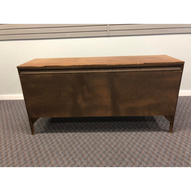 Vintage Mid Century Modern Walnut Credenza - Forward by Broyhill For Sale - Image 12 of 13