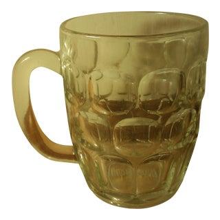 Winston Cigarette Glass Beer Stein