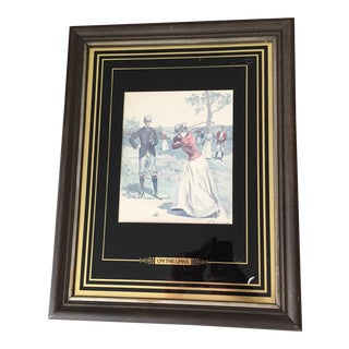 Art Deco Golf Art For Sale