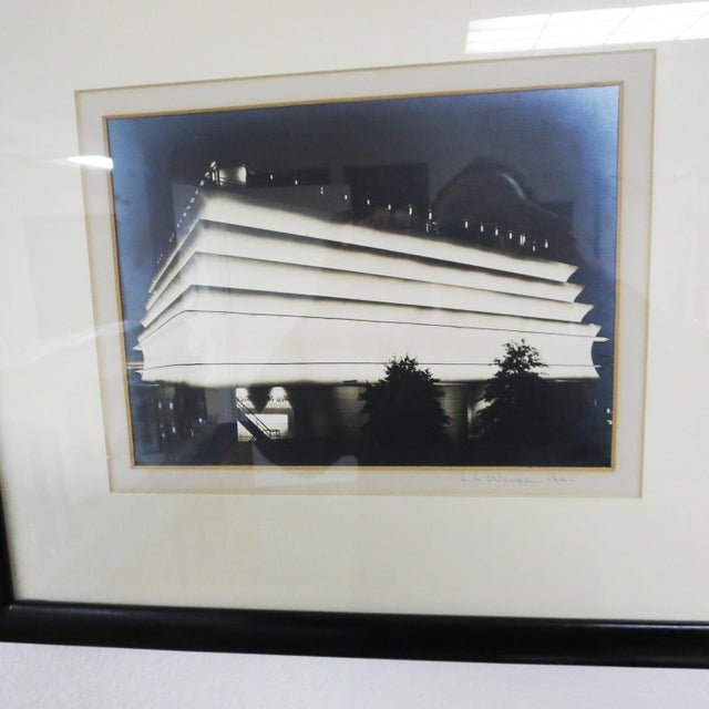 """These wonderful photos are a """"silver gelatin"""" style, with an iridescent shine to them. All four images are pencil signed..."""