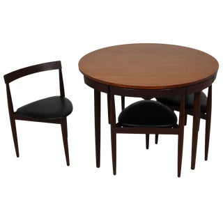 Mid Century Modern Teak Dining Set by Hans Olsen for Frem Rojle
