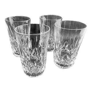 """Waterford""""Lismore"""" Pattern Highball/Tumbler Glasses - Set of 4 For Sale"""
