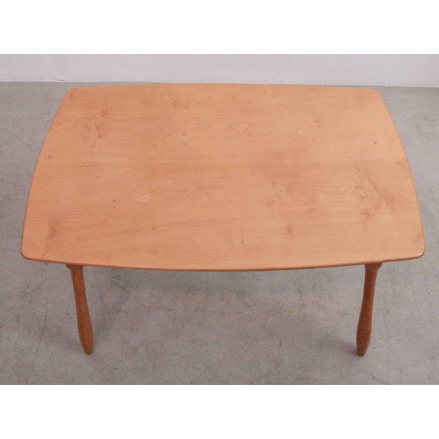 Arno Lambrecht Dining Set of Table, Three Chairs and a Bench for WK Mobel For Sale - Image 10 of 11