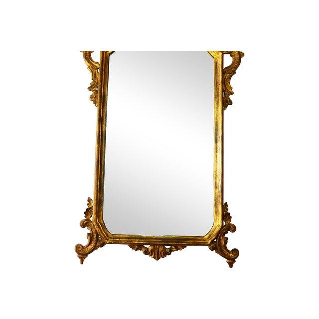 Italian Carved Gilt Wood Mirror - Image 3 of 7