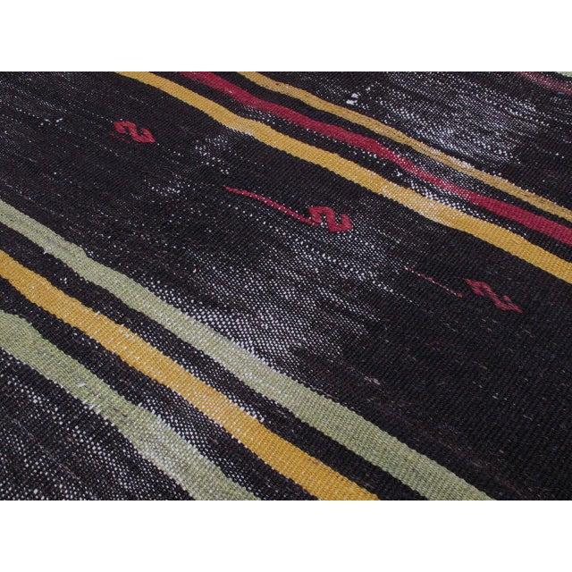 "1950s Striped Kilim, ""Adil"" For Sale - Image 5 of 10"
