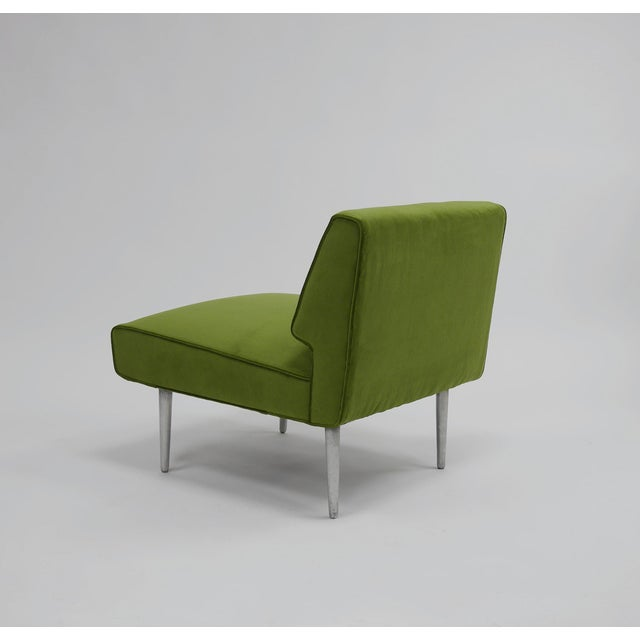 Pair of Lounge Chairs by Edward Wormley for Dunbar For Sale - Image 10 of 11
