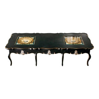 Italian Rococo Style Coffee Table For Sale