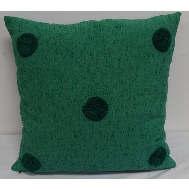 Chenille Polka Dot Pillow - Image 2 of 3