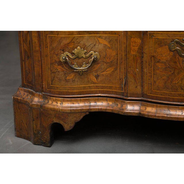 18th Century Dutch Walut Marquetry Chest - Image 7 of 11
