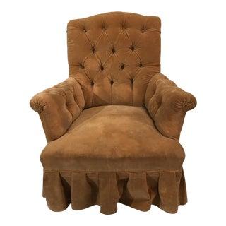 Napoleon III Chauffeuse (Fireside Chair)