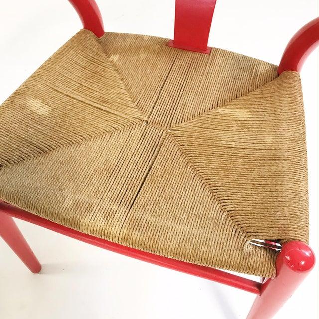 Vintage Hans Wegner Model Ch24 Wishbone Chair For Sale In Saint Louis - Image 6 of 8