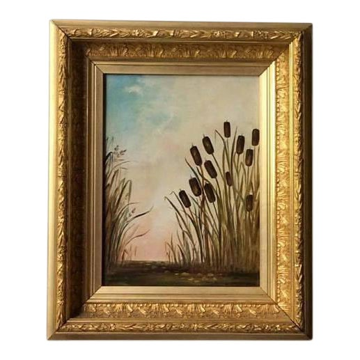 Antique American Landscape Painting - Image 1 of 6