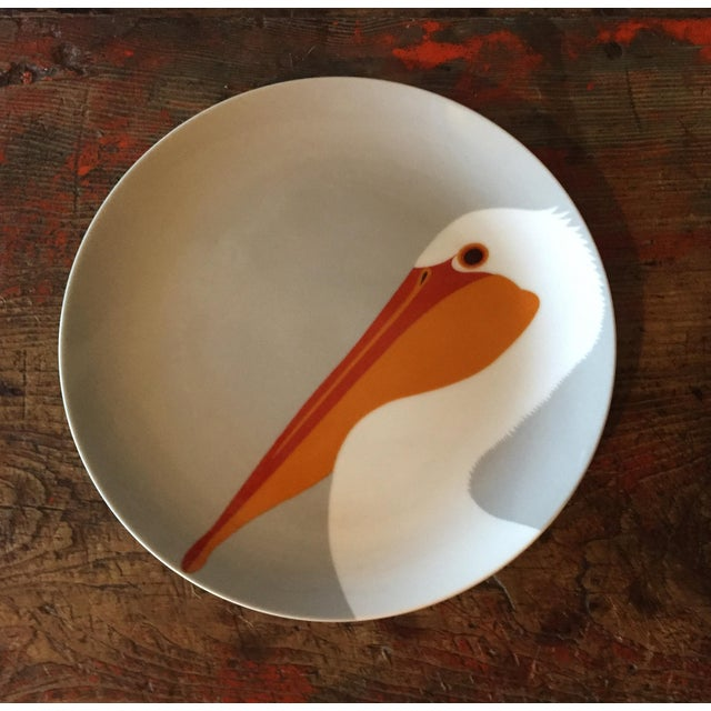 Contemporary Fitz & Floyd for Neiman Marcus Bird Plates - Set of 3 For Sale - Image 3 of 7