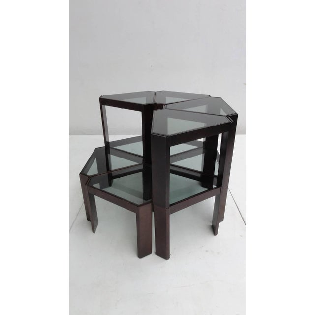 Exceptional Amazing 1970s Geometric Modular Coffee Table or ...