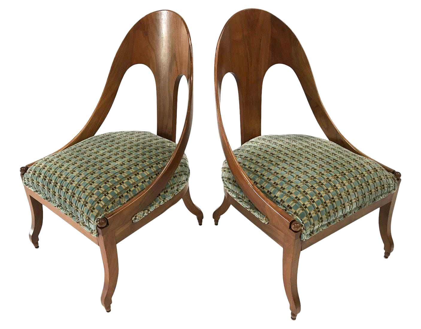 Neoclassic Chairs By Michael Taylor For Baker U2014 A Pair For Sale