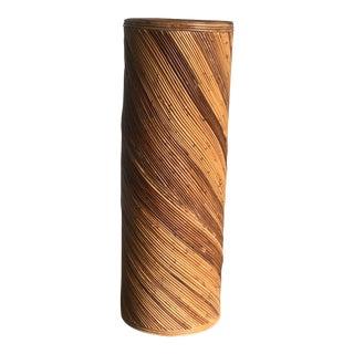 Vintage Pencil Reed Pedestal For Sale