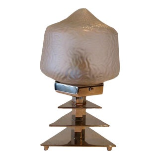 French Art Deco Modern Table Lamp For Sale