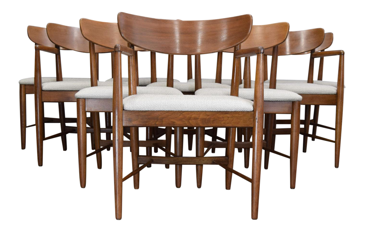 Beau American Of Martinsville U0027Daniau0027 Dining Chairs   Set Of 10