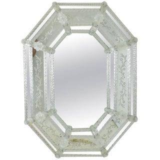 Italian Venetian Mirror For Sale