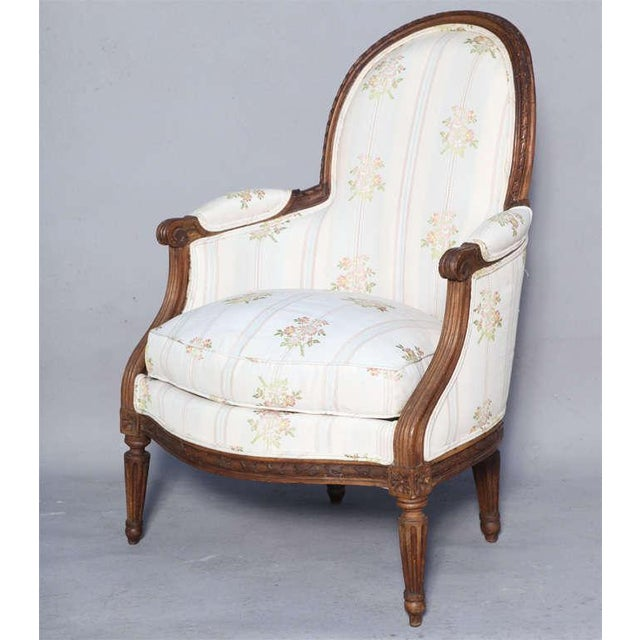 Early 18th Century Rare Pair of 18th Century. Child's Bergères Stamped Nadal-Laine For Sale - Image 5 of 10