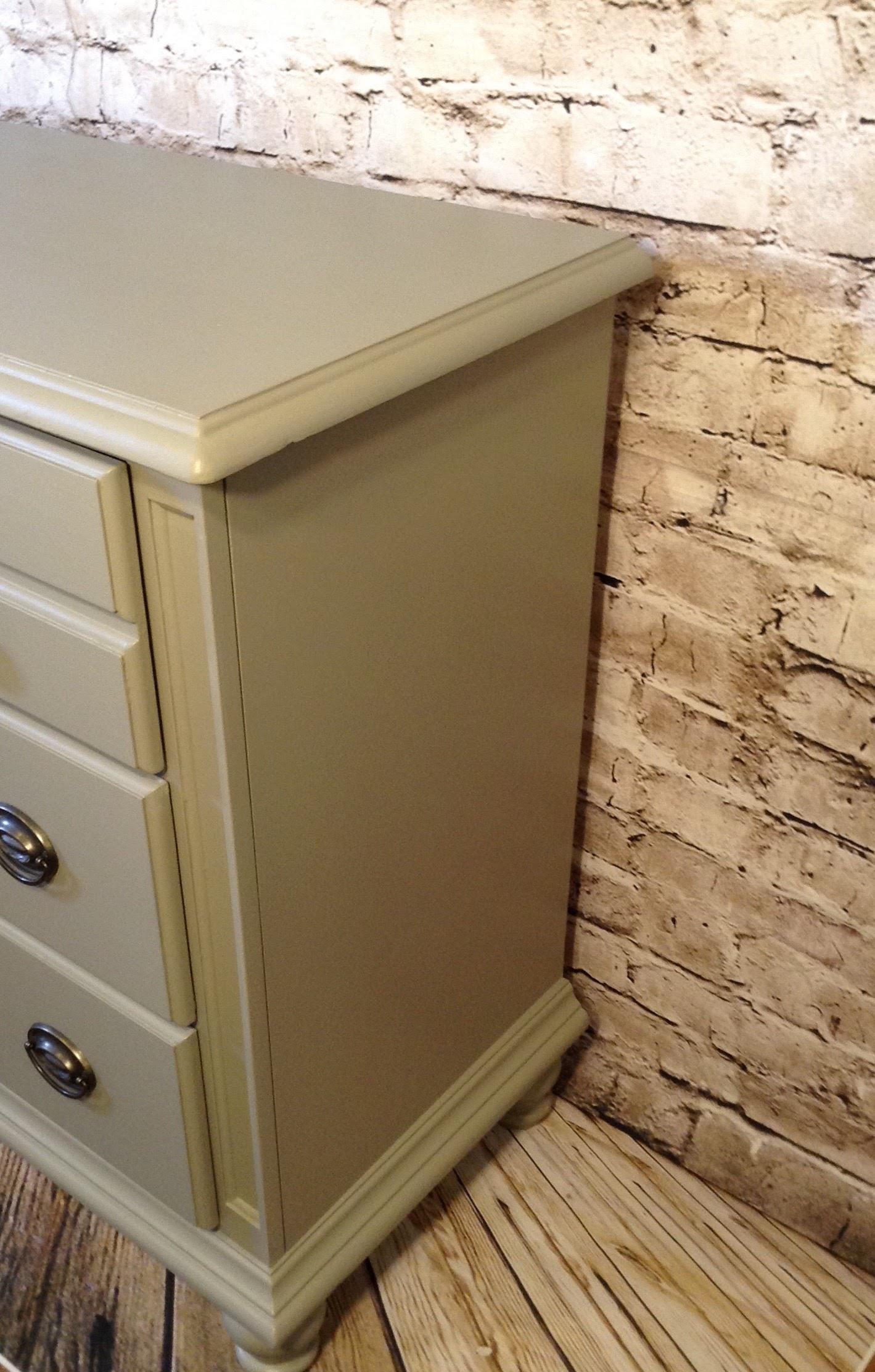 Wood Dresser, Buffet, Sideboard, Nursery, Media Console, Gray Dresser,  Industrial