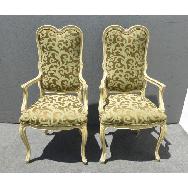 Karges Louis XV Style Dining Chairs - Set of 8 - Image 4 of 11