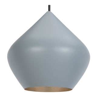 Tom Dixon Beat Stout Pendant in Grey For Sale
