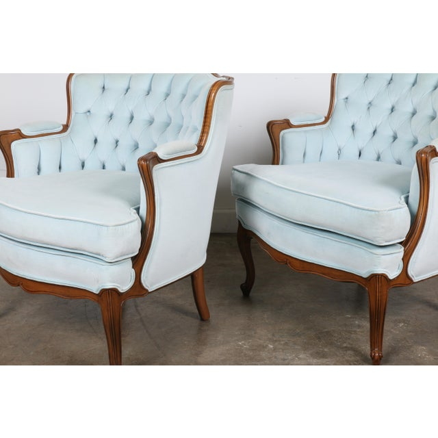 Italian-Style Chairs in Baby Blue - A Pair - Image 4 of 11