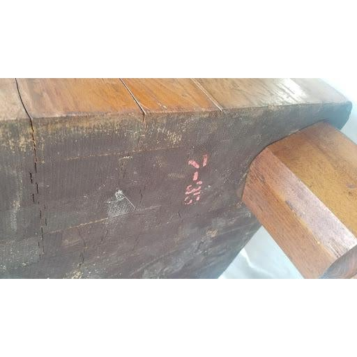 Early 20th Century Antique Butcher Block For Sale - Image 11 of 13