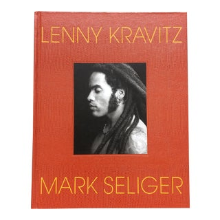 Lenny Kravitz by Mark Seliger Hardcover Book For Sale