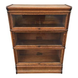 Globe Wernicke Bookcase Barrister Quatersawn Oak Mission Sytle