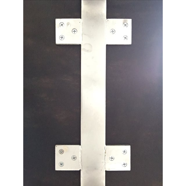 Upholstered Garrett Leather Bench - Image 7 of 7