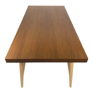 Mid-Century Modern Design Workshops Walnut Dining Table For Sale
