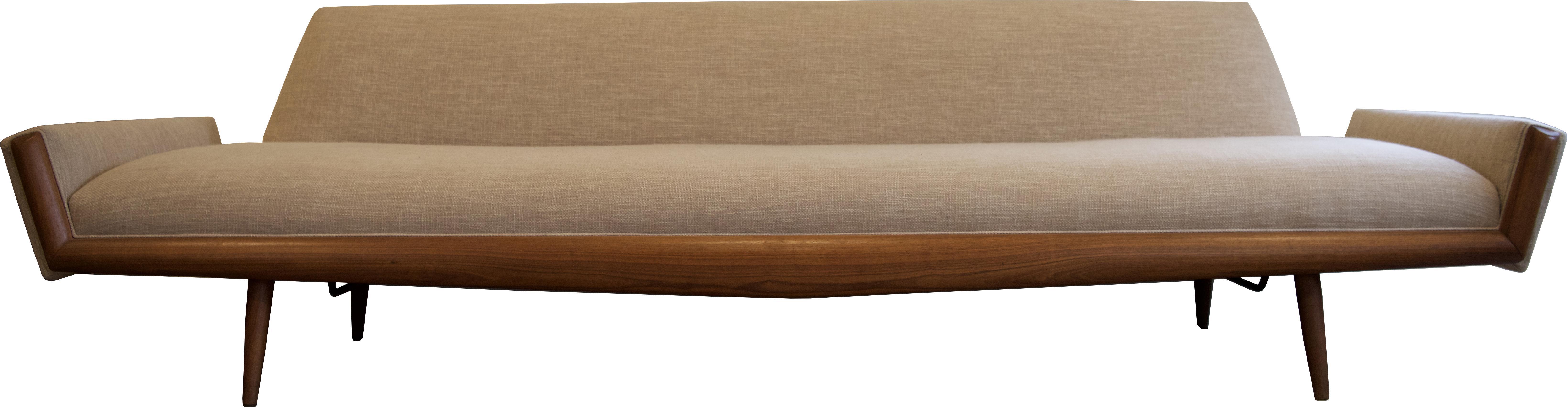 Adrian Pearsall Craft Associates Mid Century Modern MCM 2000 S Sofa |  Chairish